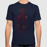 The Flash Mens Fitted Tee Navy SMALL