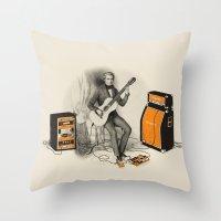 Unimaginable Symphonies Throw Pillow