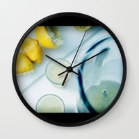 HAPPY HOUR SERIES - CAIPIRINHA Wall Clock