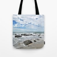 Waiting For Waves Tote Bag