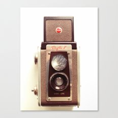Duaflex Vintage camera Canvas Print