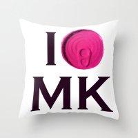 I 'Tin' Matthew kel Throw Pillow