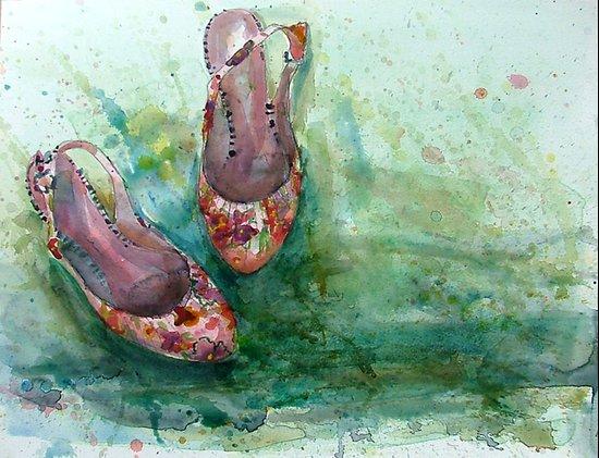 Summershoes Art Print