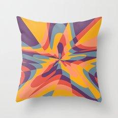 Tropical Star Throw Pillow