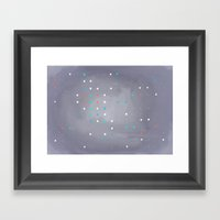 Vortual Areas I Framed Art Print