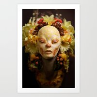 Golden Harvest Muertita … Art Print