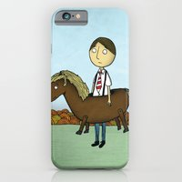 iPhone & iPod Case featuring Horseback by Chris Gregori