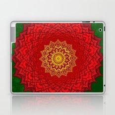 okshirahm rose mandala Laptop & iPad Skin