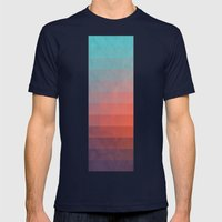 Blww Wytxynng Mens Fitted Tee Navy SMALL