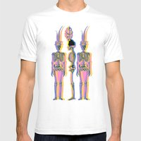 The Fancy Dead Mens Fitted Tee White SMALL
