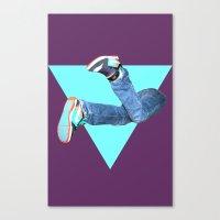 Pumped Up Kicks Canvas Print