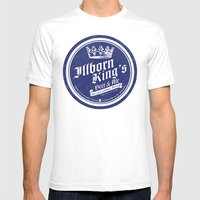 Illborn King's Mens Fitted Tee White SMALL