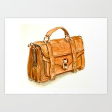 Brown Bag Art Print