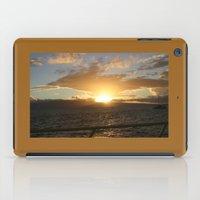 Hawaiian Sunset iPad Case