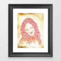 The Muses, no. 5 Framed Art Print