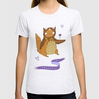 In Cahoots Womens Fitted Tee Ash Grey SMALL