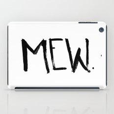 Mew. iPad Case