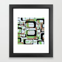 Patternation Framed Art Print