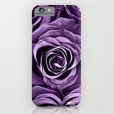 Rose Bouquet in Purple iPhone 6 Slim Case