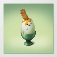 Art Snacks: The Categg Canvas Print