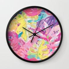 PopRosé Wall Clock