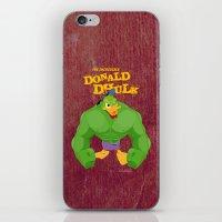 coupling up (accouplés) Donald Dhulk iPhone & iPod Skin