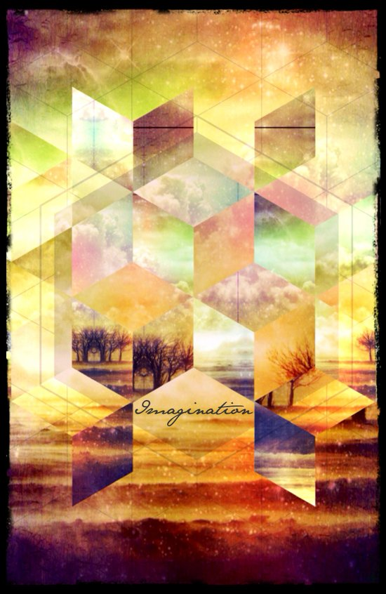 Imagination - for iphone Art Print