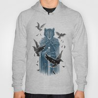 Wolf And Ravens Hoody