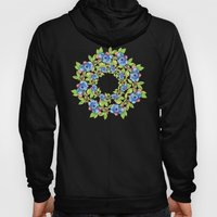 Wild Maine Blueberries Allover Print Hoody