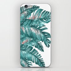 tropical blue iPhone & iPod Skin
