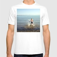 Into The Drink Mens Fitted Tee White SMALL