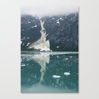 Alaskan Ice. Canvas Print