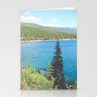 Lake Tahoe 2 Stationery Cards