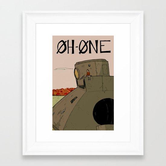 OhOne COLOR Framed Art Print