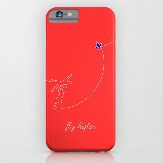 Fly higher iPhone & iPod Case