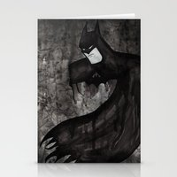 Black Bat Stationery Cards