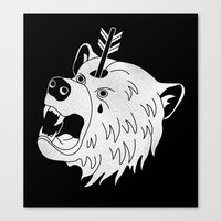 Bear In Mind Canvas Print
