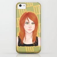 iPhone 5c Cases featuring Hayley #1 by attkcherry