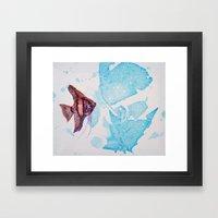 Little Angelfish Framed Art Print