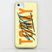 iPhone 5c Cases featuring Start Today by CaliDoso