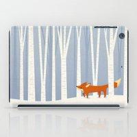 Fox In The Snow iPad Case