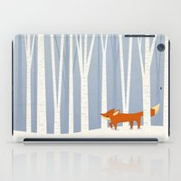Fox In The Snow iPad Case