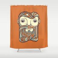 Goofy Shower Curtain