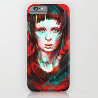 girl iPhone & iPod Cases featuring Wasp by Alice X. Zhang