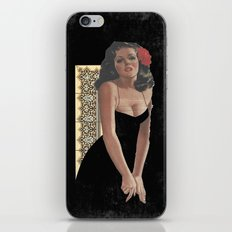 Pinup 4 iPhone & iPod Skin