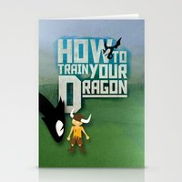 How To Train Your Dragon Stationery Cards