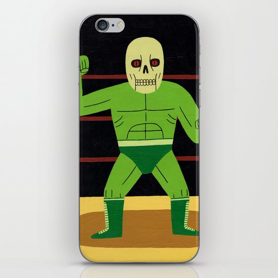 The Glowing Skull iPhone & iPod Skin