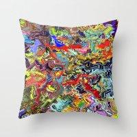 modath glyphu Throw Pillow