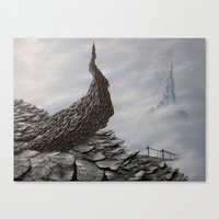 Mimicking Stones Canvas Print