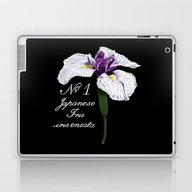 Laptop & iPad Skin featuring Botanical #1 Japanese Ir… by Strange Charm